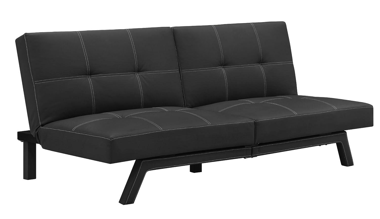 furniture armless adjustable position splitback futon sleeper sofa