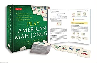 Play American Mah Jongg! Kit: Everything you need to Play American Mah Jongg (includes instruction book and 152 playing cards) written by Elaine Sandberg