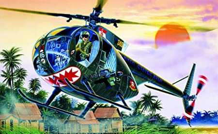 Italeri - I1028 - Maquette - Aviation - OH-6A Cayuse - Echelle 1:72