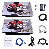 Yang HD Arcade Video Game Console Machine, 1299 Games, 2 Players 2 Single Consoles Pandora's Box 5S Multi Player Home Arcade, 1299 Games All in 1, Non-Jamma HDMI VGA