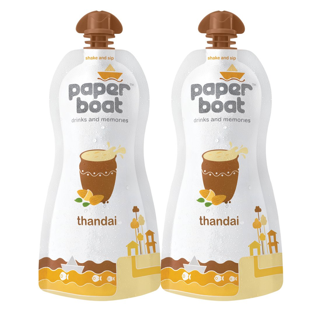 Paper Boat Thandai, Pack of 2 (2 X 200ml) low price