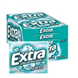 EXTRA Gum Polar Ice Sugarfree Gum, 15 Sticks (Pack of 10)