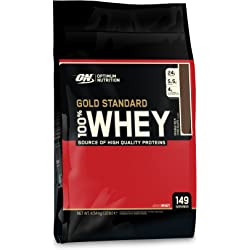 2-Pack Optimum Nutrition 10Lb 100% Whey Gold Standard - Double Rich Chocolate + PRO BCAA Fruit Punch