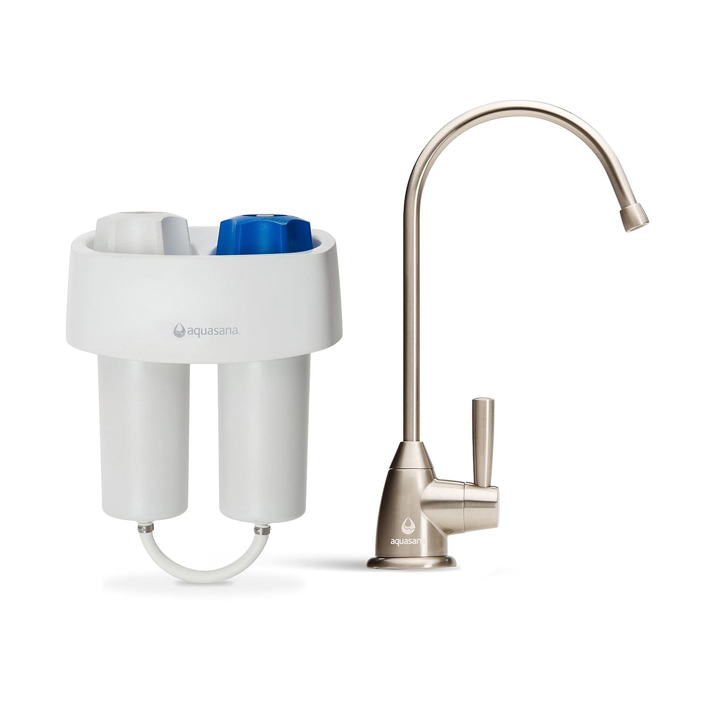 aquasana aq460155 premium under counter water filter system