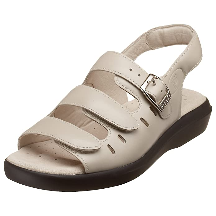 Propet Women's W0001 Breeze Walker Sandal,Dusty Taupe Nubuck,10 X (US Women's 10 EE)