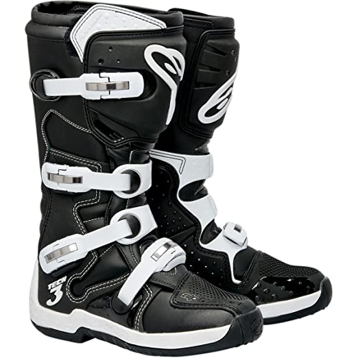 Alpinestars Crosslaarzen Tech 3 Black/White-42 (8)