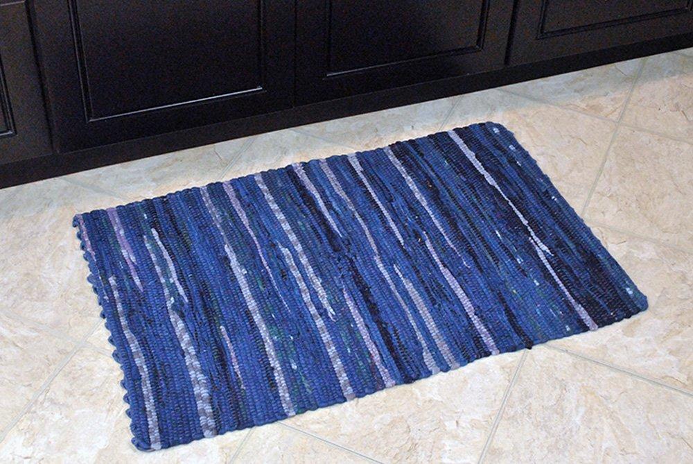 Dii Home Essentials Rag Rug For Kitchen Bathroom Entry