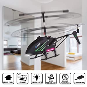 Remote & App-Controlled Devices Remote Control Helicopter with 6