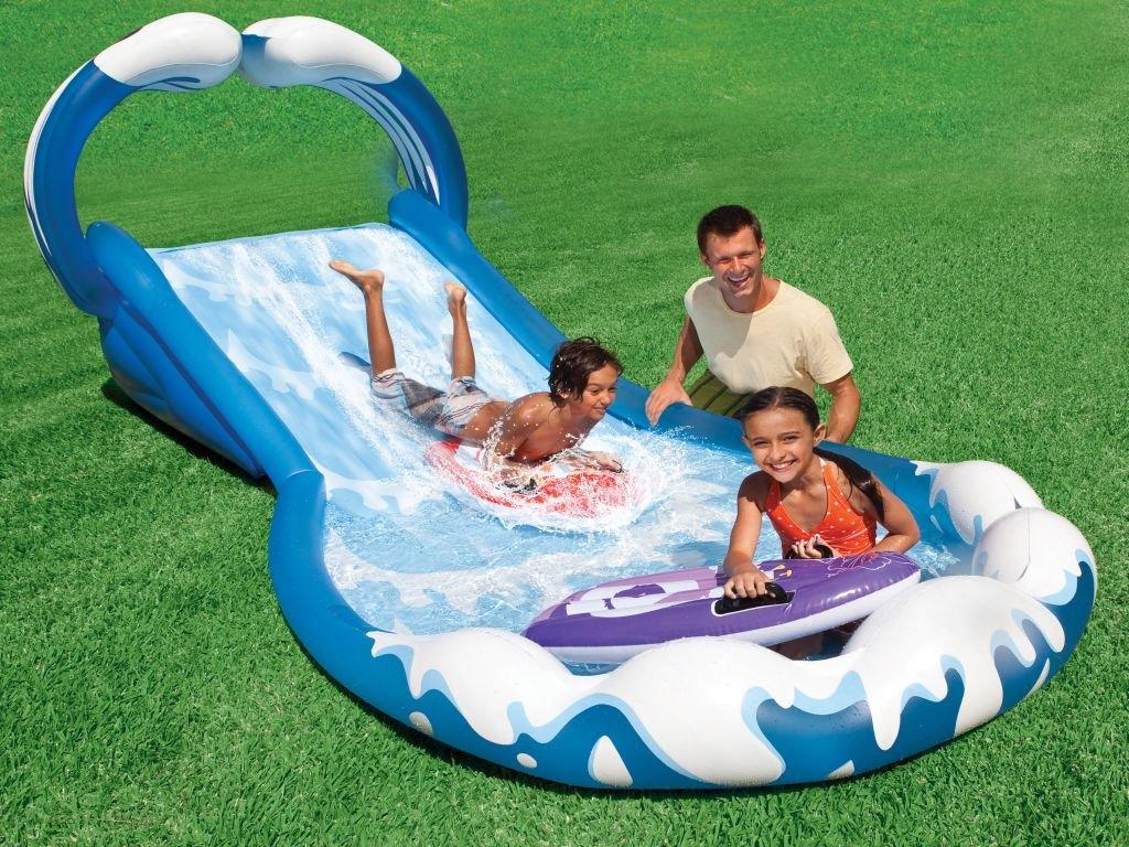 Aufblasbare Wasserrutsche Surf`n Slide 406x168x163cm kaufen