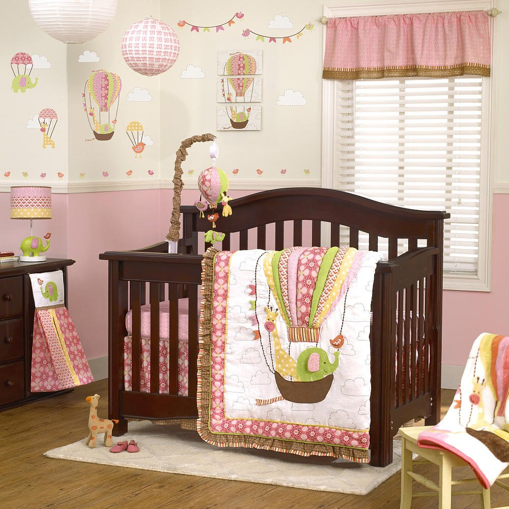 Cocalo Up and Away Crib Bedding