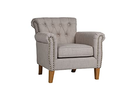Birlea Highgate Chair, Fabric, Linen