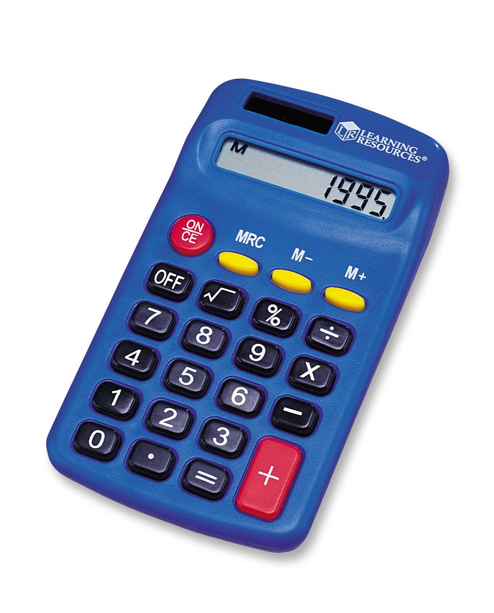 learning resources calculator primary set of in learning resources calculator primary set of 10 in computers accessories