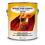 System Three 1855S24 Clear Marine Spar Urethane Varnish Coating, Satin, 1 gal Can (Color: Satin, Tamaño: 1 Gallon)
