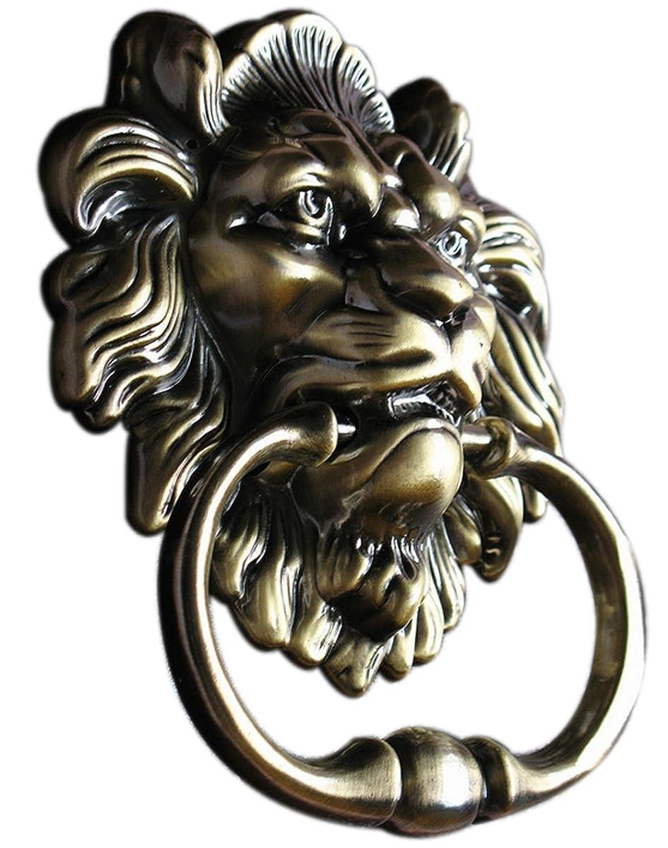 Door Knocker Lion Head Handle Pull-Antique-Summershen