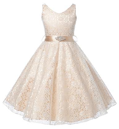 a8ead1fb088c LACE FLOWER GIRL DRESSES - Sanmaz Kones