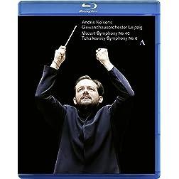 """Mozart: Symphony No. 40; Tchaikovsky: Symphony No. """"Pathétique [Blu-ray]"""
