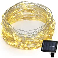 Hallomall LED Solar Powered String Lights (Warm White)