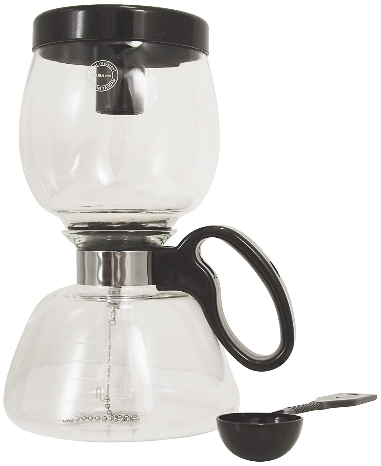 NEW Glass Yama Stovetop Coffee Siphon 22 Ounce Stove Top Vacuum Pot Carafe Maker eBay