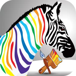 Paint My Little Zebra from Hexasolutions.Inc
