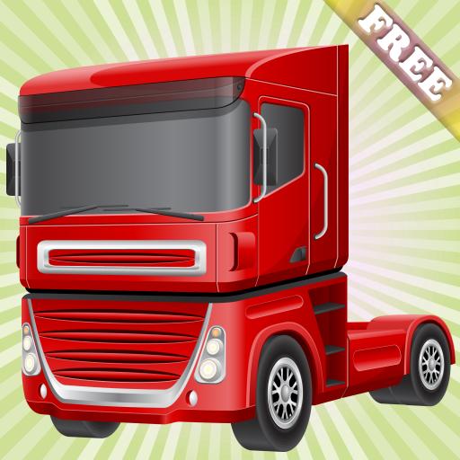 comparamus jeu de course avec des camions pour les enfants conduire les grands camions dans. Black Bedroom Furniture Sets. Home Design Ideas