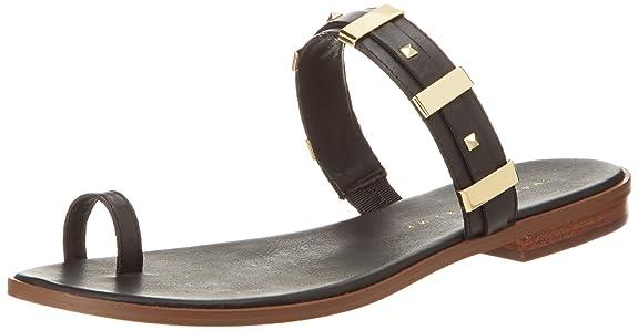 Ivanka Trump Women's Kelsees2 Flip Flop,Black,6 M US