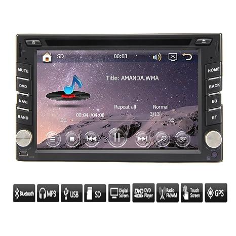 2015nouvelle 2DIN lecteur DVD de voiture pc GPS Navigation stéréo multimédia Vidéo Écran tactile tête universelle Unité Double BT MP3