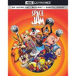 Space Jam: A New Legacy [4K Ultra HD + Blu-ray]