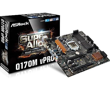 ASRock Q170M VPRO Carte mère Intel Micro ATX Socket LGA1151
