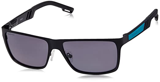 wafers sunglasses  Fastrack Wayfarer Sunglasses (Black) (M101BK1P): Amazon.in ...