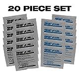 Pinpoint High-Precision pH Calibration Fluids Kit (pH Buffer Solution), 20 Piece Set - 7.000, 10.000