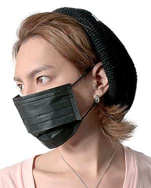 JIGGYS SHOP B.M 黒マスク 5枚入り レギュラーサイズ
