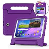 Cooper Dynamo [Rugged Kids Case] Protective Case for Samsung Tab E 9.6   Child Proof Cover, Stand, Handle   SM-T560 T561 T562 T563 T565 T567 (Purple) (Color: Purple, Tamaño: Samsung Galaxy Tab E 9.6)