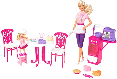Barbie I Can Be Doll Playset - Sweet Chef