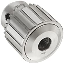"Llambrich CY Plain Bearing Heavy Duty Threaded Mount K34 Keyed Drill Chuck, 1/2""-20 Mount, 1-49/64"" Chuck Diameter, 1/64""-3/8"" Capacity"