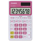 Casio SL-300VC Standard Function Calculator, Pink (Color: Pink)