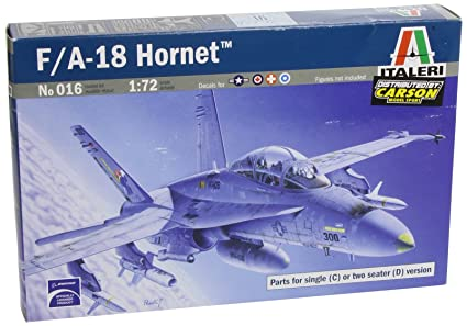 Italeri - I016 - Maquette - Aviation - F/A-18C/D Wild Weasel - Echelle 1:72