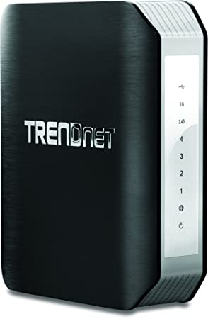 TrendNET AC1900 Dual Band Wireless AC Router /w USB Port, TEW-818DRU (Router /w USB Port)