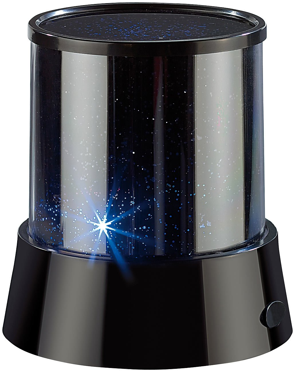 Lunartec Mobiler Mini-Sterne-Projektor