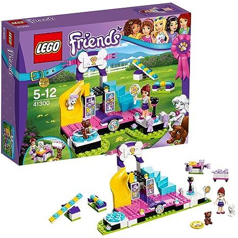 LEGO - 41300 - Friends - Jeu de construction - Le Concours Canin pour Chiots