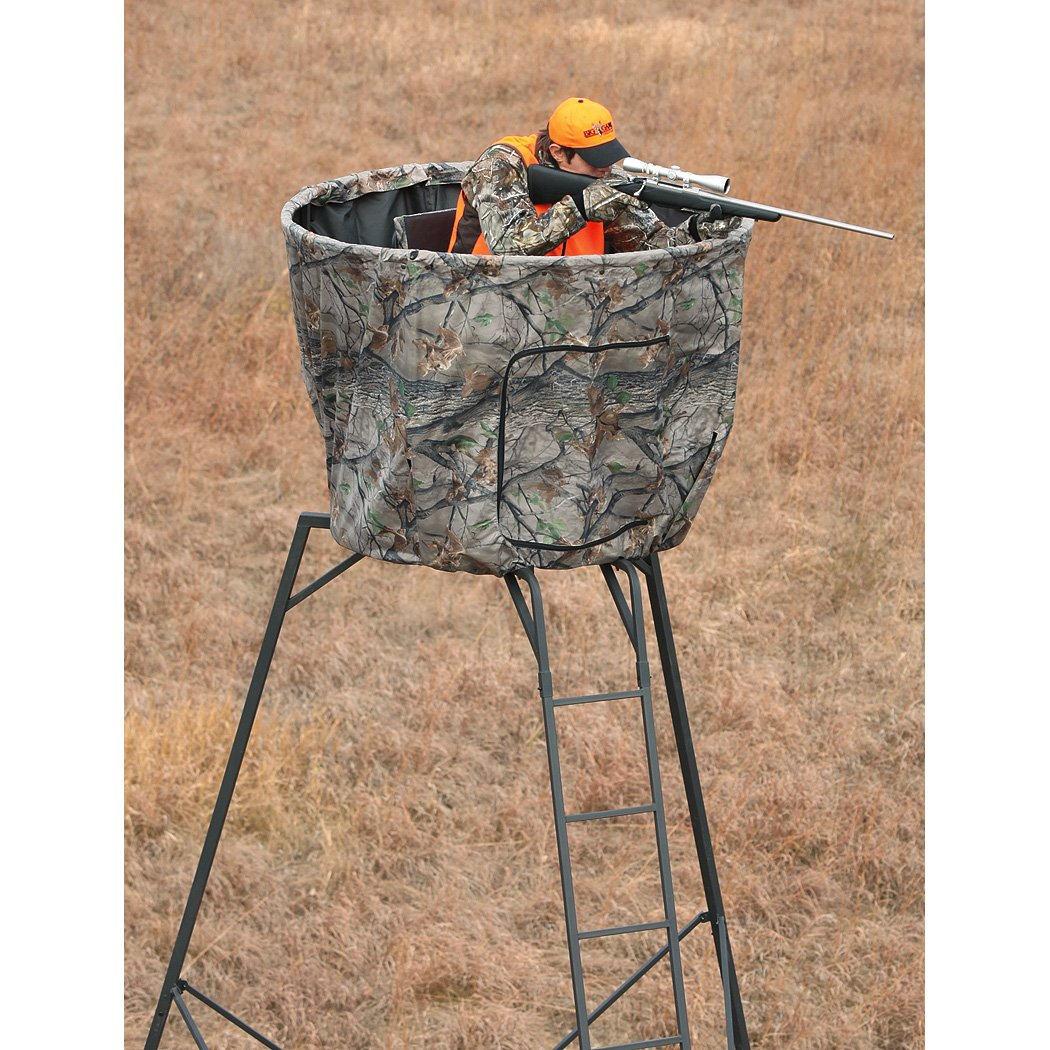 adrenaline big game treestand deer blind tripod