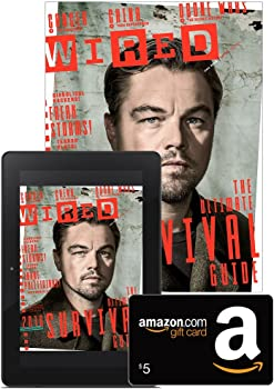 1-Yr Wired Magazine Subscription + $5 GC