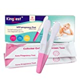 Docalon Early Pregnancy Test, 2 Count, Clear and Accurate Results Over 99% Accurate HCG Pregnancy Test Early Detection Individually Sealed (Color: White,pink, Tamaño: Midstream)