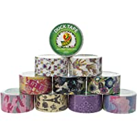 10-Rolls Patterned Duck Brand Duct Tape
