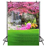 DULUDA 6X9FT(1.8X2.7M) Spring Scenery Seamless Pictorial Cloth Customized Photography Backdrop Background Studio Prop WT12B (Tamaño: 6X9FT)