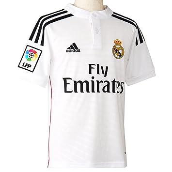 maillot de foot real madrid 12 ans jolie