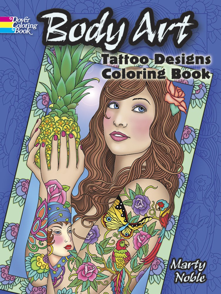 Reviews: Body Art: Tattoo Designs Coloring Book (Dover Design ...