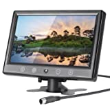 LSLYA 9 Inch LCD Monitor HD 800x480 TFT Color Screen, 2 Video Input/HDMI/VGA, Support Car Backup, mini PC Display, CCTV, Home Security, with Remote Control (Tamaño: 9 inch)