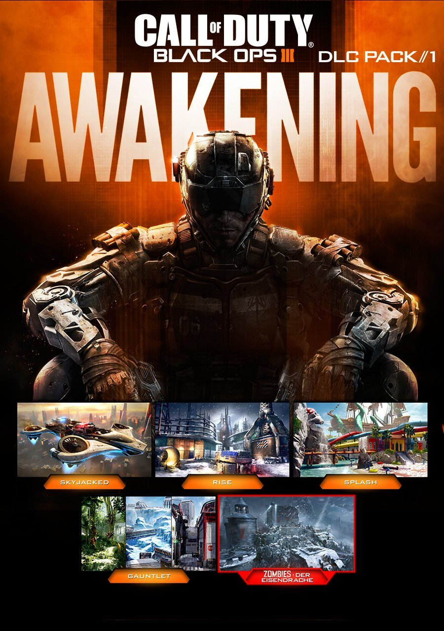 Call Of Duty: Black Ops III: Awakening DLC - PS4 (Digital Code)