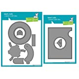 Lawn Fawn Magic Iris Interactive Custom Craft Die and Magic Iris Add-on Custom Craft Die, Bundle of 2 Items (LF2238, LF2239)