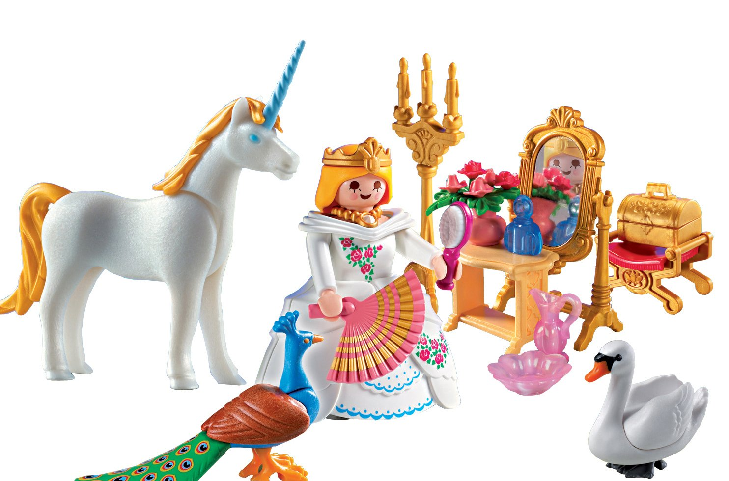 Playmobil princesse for Playmobil chambre princesse